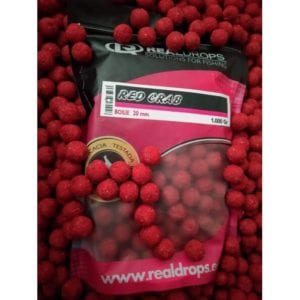Boilies real drops red crab 300x300 - Boilies Real Drops Red Crab
