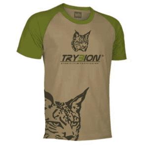 Camiseta Trybion camel kaki