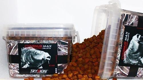 Cubo Pellets 5 KG CYPRINUS MAX - Cubo Pellets Trybion 5 KG Cyprinus Max