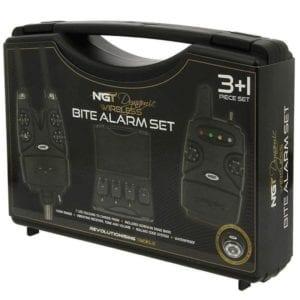 Set de alarmas NGT Dynamic maletin 300x300 - Maletín de alarmas Dynamic + receptor NGT
