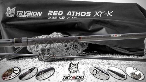 Cana Trybion RED ATHOS XT K 3 - Caña Trybion Red Athos XT-K 13""