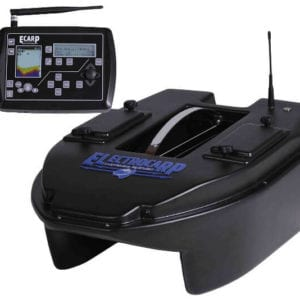 Barco cebador electrocarp C3 negro mando 300x300 - Barcos cebadores para carpfishing
