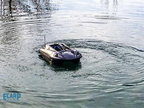 Barco para cebar Carpio - Barco cebador Carpio con GPS