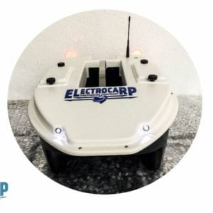 barco cebador electrocarp C3 blanco mando 2 300x300 - Barcos cebadores para carpfishing