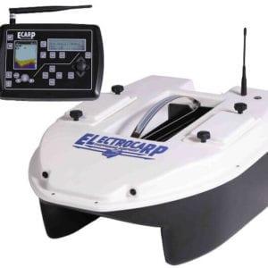 barco cebador electrocarp C3 blanco mando 300x300 - Barcos cebadores para carpfishing