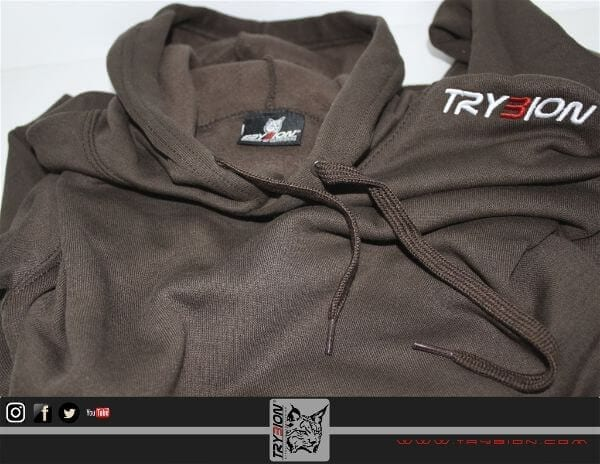 sudadera marron trybion 2 - Sudadera Trybion Marrón