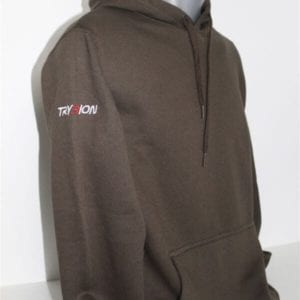 sudadera marron trybion 4