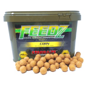 Cubo feedz corn 14mm 300x300 - Cubo 4kg Feedz Corn Starbaits