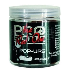 Probiotic red pop up flotante