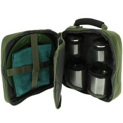 set de utensilios y cubiertos para camping - Set de utensilios de cocina NGT