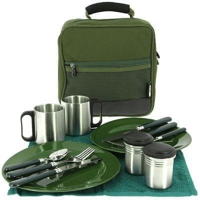 set utensilios de cocina para camping - Set de utensilios de cocina NGT