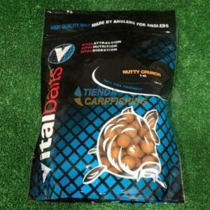 Boilies nutty crunch vitalbaits 300x300 - Boilies para carpfishing