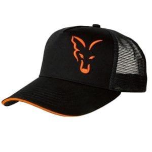 Gorra fox negra de red