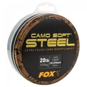 Sedal Fox camo soft steel 300x300 - Sedal, hilos, líneas y trenzados para carpfishing