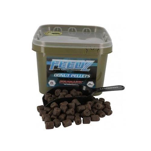 feedz donut pellets starbaits - Cubo de pellets Feedz Donut Starbaits 4.5 KG 15mm