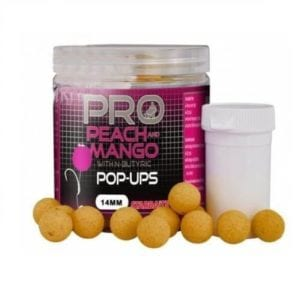 Pop ups peach mango starbaits 14 mm 300x300 - Pop ups Peach Mango Starbaits 14 mm
