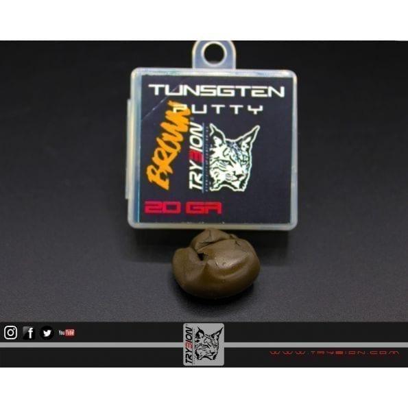 trybion masilla tugsteno 20gr marron - Masilla Tungsteno marrón Trybion 20 gramos