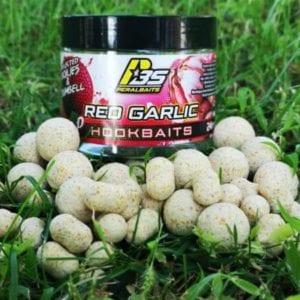 Hook baits red garlic peralbaits 300x300 - Cebos para Carpas