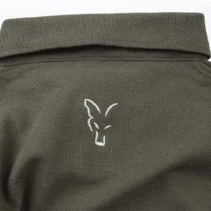 Polo verde Fox Carpfishing 4