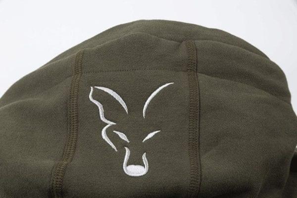 sudadera con capucha fox verde 2