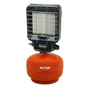 Estufa portatil butsir naranja 300x300 - Estufa de pantalla portátil Butsir para botella naranja de 2 y 3 kg