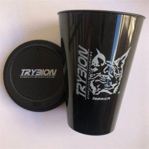 Vaso con tapa Trybion negro 300x300 - Vaso Trybion