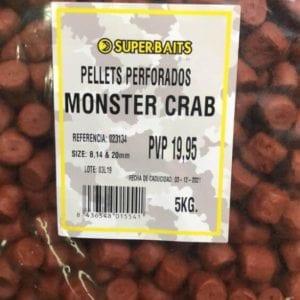 pellets perforados superbaits 5 kilos monster crab 300x300 - Mix Pellets Monster Crab 5 kg Superbaits