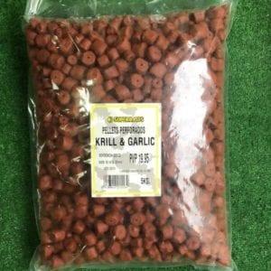 pellets perforados superbaits krill garlic 300x300 - Mix Pellets Krill Garlic 5 kg Superbaits