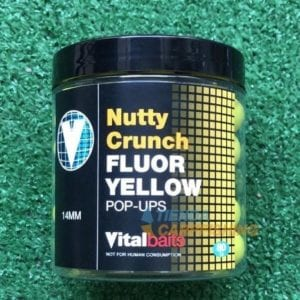 pop ups nutty crunch fluor amarillo vitalbaits 300x300 - Pop ups Nutty Crunch Fluor amarillos Vitalbaits