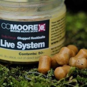 Live System Glugged Hookbaits ccmoore carp 300x300 - Cebos para Carpas