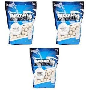 lote boilies coconut crema nash 300x300 - Oferta: 2 Bolsas de Boilies Coconut Crema 18mm Nash + 1 de regalo
