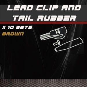 set clip plomo con pasador marron 300x300 - Set clip plomo con pasador marrón Trybion