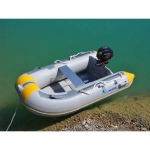 barca neumatica viamare 230 blanca