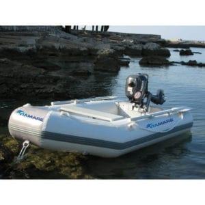 barca neumatica viamare 250 blanca 2