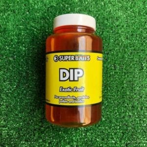 dip exotic fruit superbaits 300x300 - Remojos para carpfishing