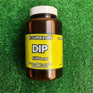dip krill secret superbaits 300x300 - Remojos para carpfishing